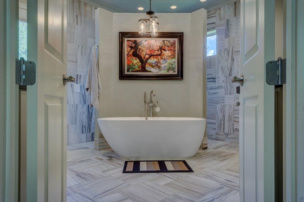 Kolorystyka w łazience