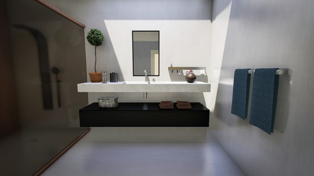 Beton w łazience – nowoczesne aranżacje wnętrz 2020