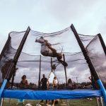 trampoliny ogrodowe